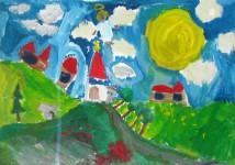 Работа Тетюшина Егора, 7 лет (II место)