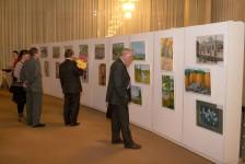 Открытие выставки в Театре оперы и балета